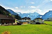 Panorama alpes — Foto de Stock