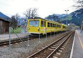 Alps train — Stock Photo