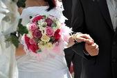 Wedding ceremony — Stock Photo