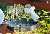 Wedding toast — Stock Photo