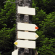 Close up of signpost — Stock Photo #51518491