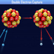 Stock Photo: Double Electron Capture