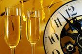 Celebration of the new year — Stock Photo