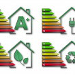 Energy efficiency pack — Stock Photo