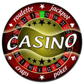 Casino illustration — Stock Photo