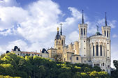 Basilica of Notre Dame de Fourviere, Lyon, France — Stock Photo