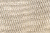 Beige knitted texture — Stock Photo