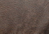 Used brown leather texture — Stock Photo