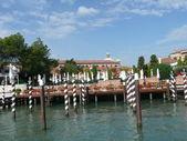 Darsena en venecia — Foto de Stock