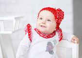 Portrait Baby Girl — Stock Photo