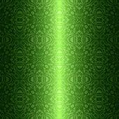 Damask vintage floral green seamless pattern background — Stockvector