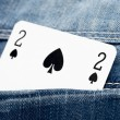 Stock Photo: Two of spades