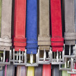 Multicolored belts — Stock Photo #39823905