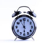Alarm Clock with six o'clock — Stock Photo