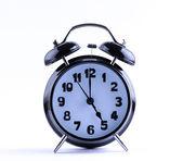 Alarm Clock with five o'clock — Stock Photo