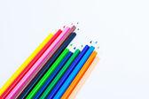 Colors, pencil, paper — Foto Stock
