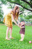 Baby walk — Stock Photo