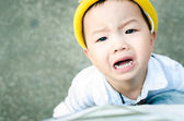 Be irritable baby — Stock Photo