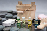 Spa accessories and Aromatherapy oil — Stock fotografie