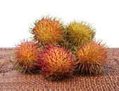 Hairy Fruit Rambutan Indonesia — Stock Photo
