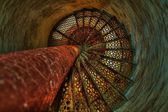 Down The Lighthouse Stairs — Stock Photo