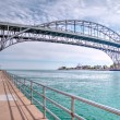 Stock Photo: Blue Water Bridge
