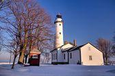 Zimní světlo — Stock fotografie