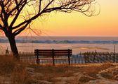 Winter Sunset — Stockfoto