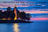 The Lord Is My Light — Stockfoto