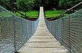 Swinging Bridge — Stock Photo