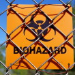 Foto Stock: Biohazard Zone