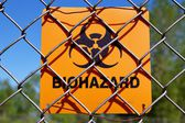 Biohazard Zone — Stock Photo