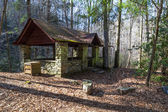 Historic Picnic Shelter — Foto Stock