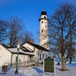 Winter Lighthouse — Stock Photo