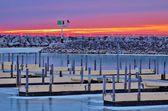 Harbor Sunrise — Foto Stock