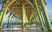 Under The Boardwalk — Stock Photo