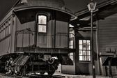 The Old Train Depot — Stock Photo