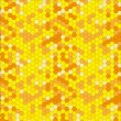 Stock Vector: Vector abstract background with honeycombs