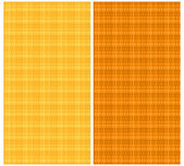 Satz von nahtlose textur in orangetönen. vektor-eps 10. — Stockvektor