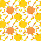 Bright abstract seamless pattern with blots. Vector eps 10. — Vettoriale Stock