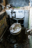 Toilet of Horror — Stockfoto
