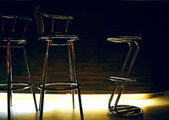Bar stolice — Stock fotografie