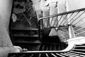 Oude trap — Stockfoto
