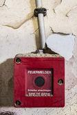 Požární poplach — Stock fotografie