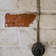 Stock Photo: Old light switch