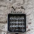 Stock Photo: Old fuse box