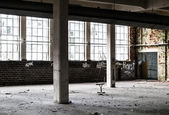 Old factory hall — Stock Photo