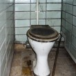 Old toilet — Stock Photo