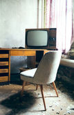 TV from the old days — Stock Photo
