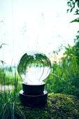 Sfera di vetro della natura — Foto Stock